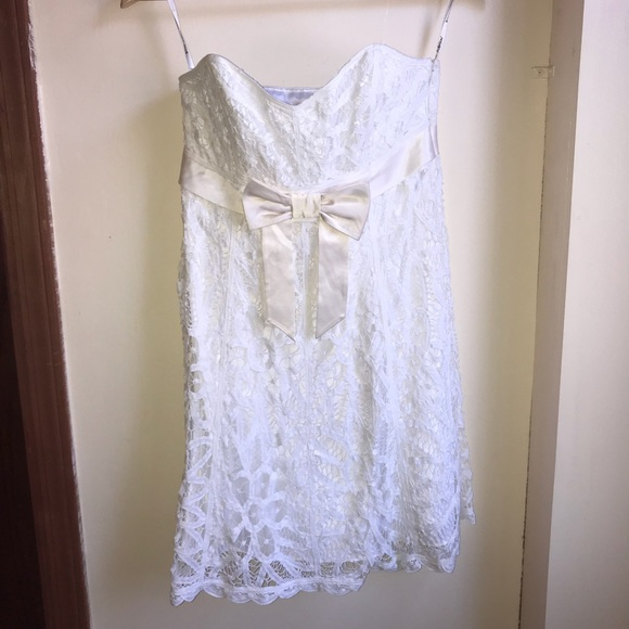 Betsey Johnson White Lace Dress